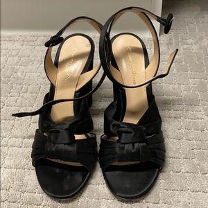 Gianvito Rossi Loren Black Sandal 7.5